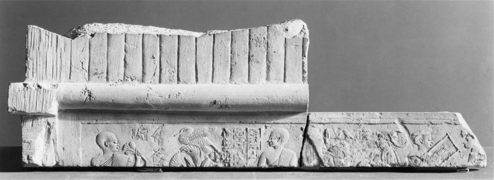 Tomb Relief with Funerary Scenes and Inscriptions