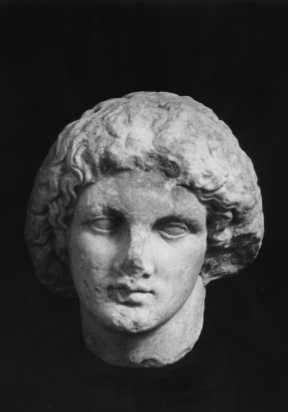 Head of a Girl of