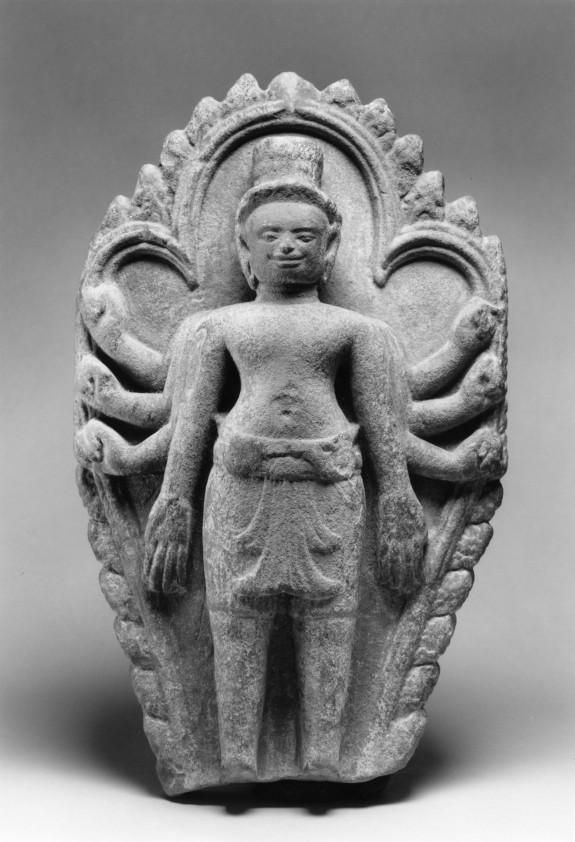 Stele with Eight-armed Avalokiteshvara