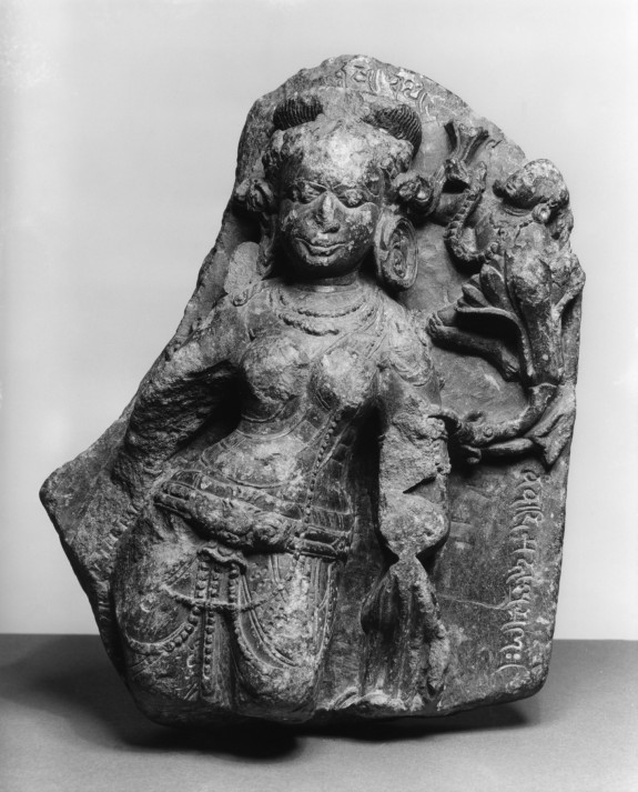 Figure of Tara with Inscription of Buddhist Creed Formula