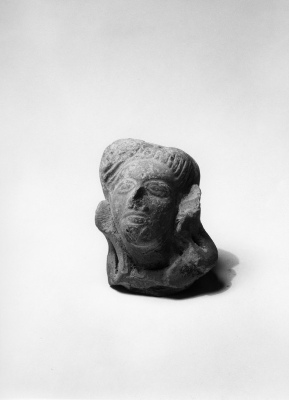 Head of an Indian Village Deity