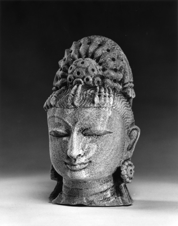 Head of an Attendant Figure