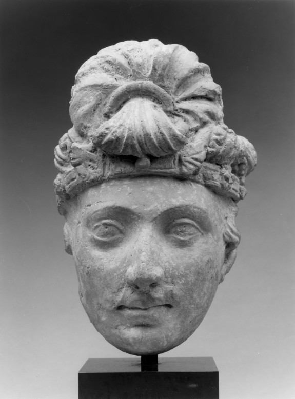 Head of a Bodhisattva or Donor Prince