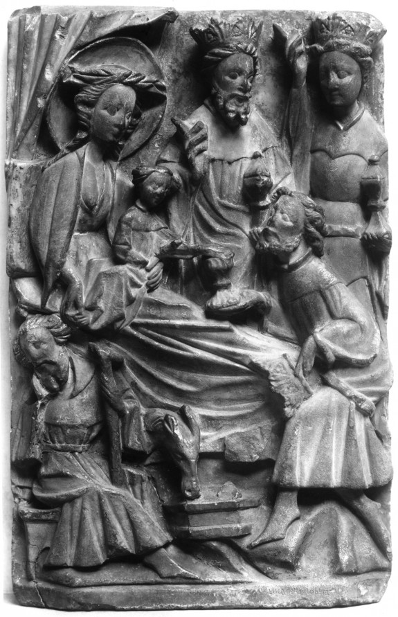 Panel from an Altarpiece with the Adoraton of the Three Kings