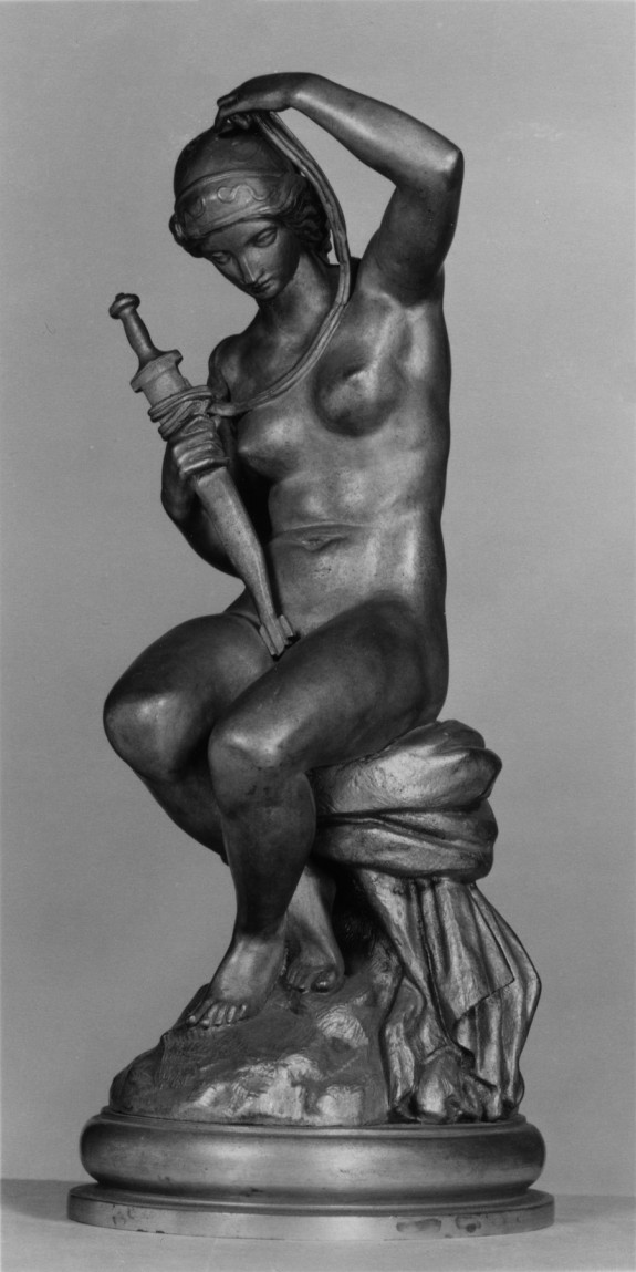 Nude Woman with Sword, Justice (?)