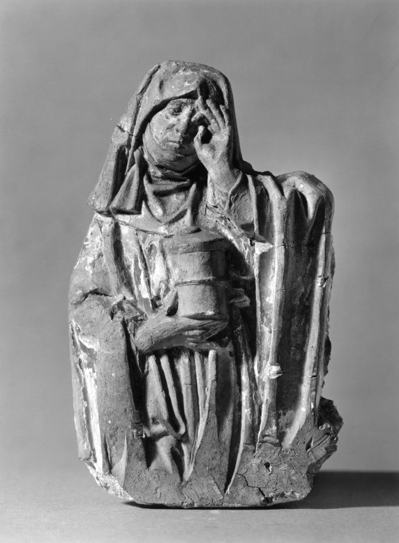 Half Length Statue of the Weeping Magdalen