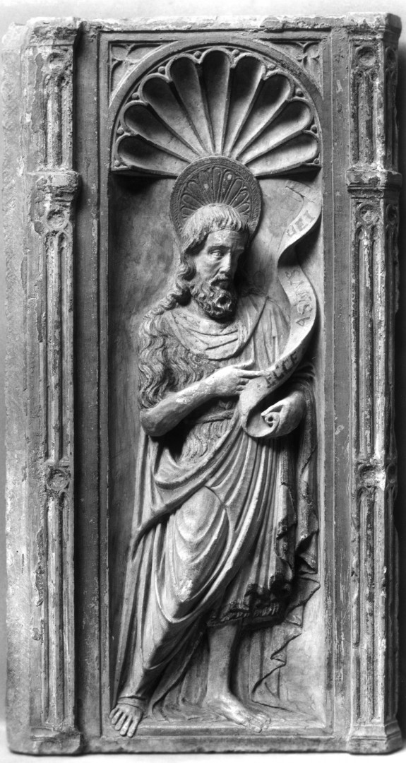 Relief from Reredos with St. John the Baptist
