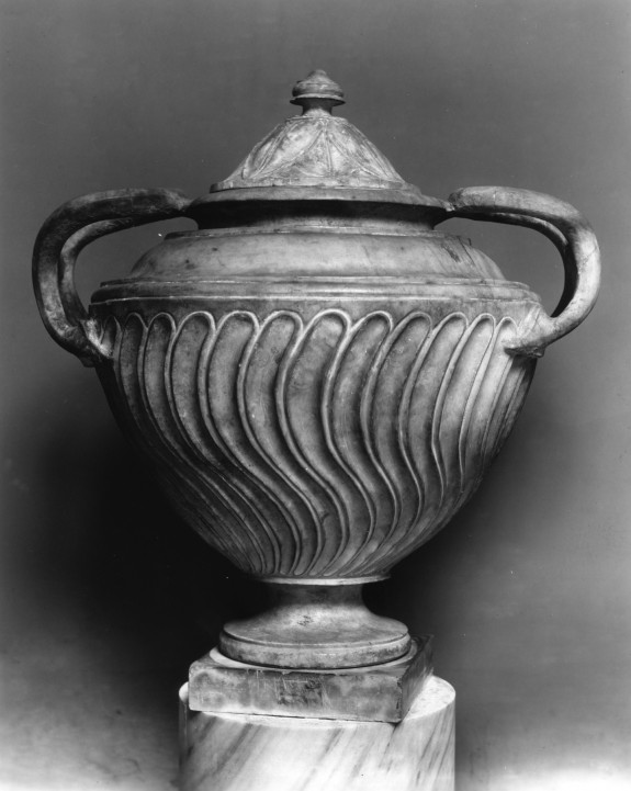 Mortuary Urn with Cover