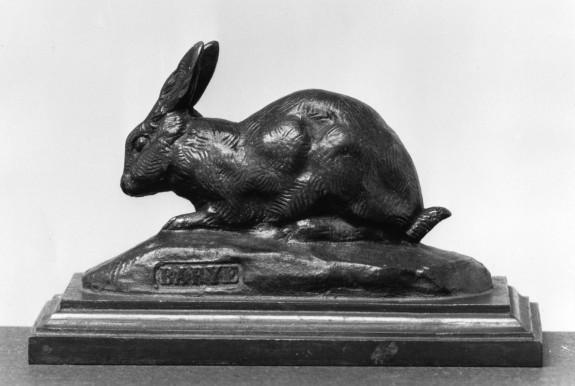 Rabbit with Ears Erect