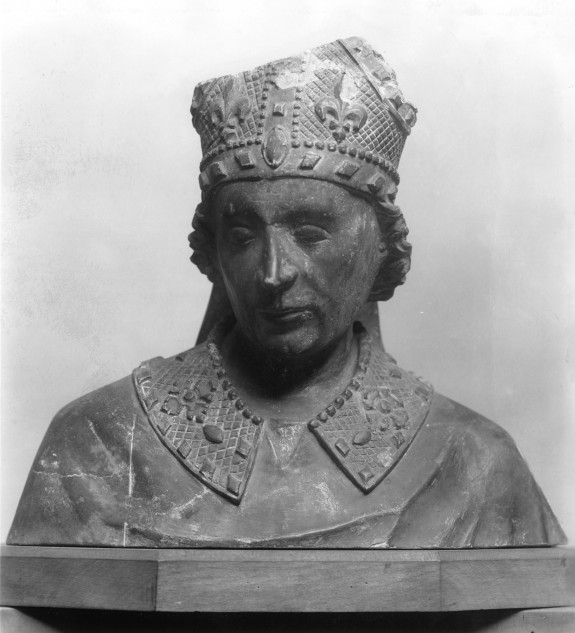 Bust of St. Louis of Toulouse