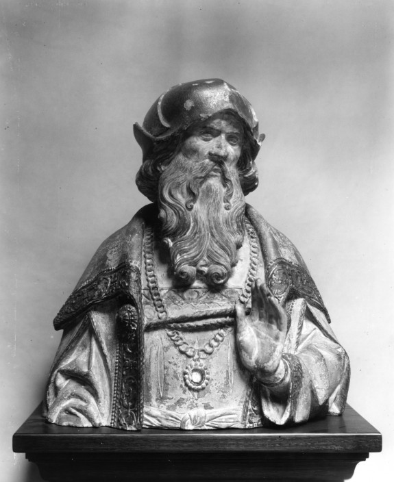 Half-length Figure of a Prophet From a