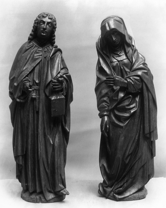 The Virgin and Saint John from a Crucifixion Group