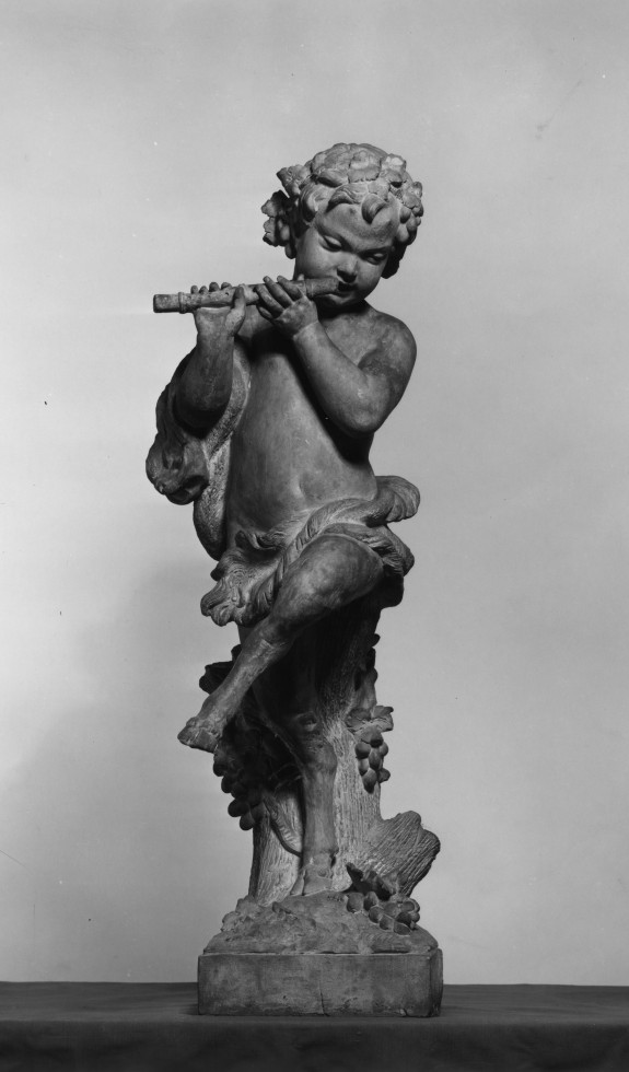 Dancing Faun with Flute