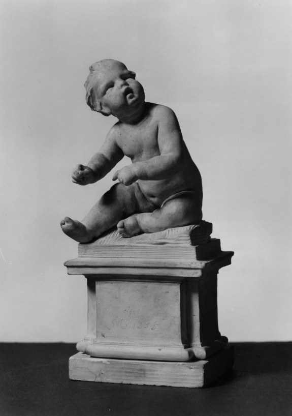 Seated Child on Pedestal