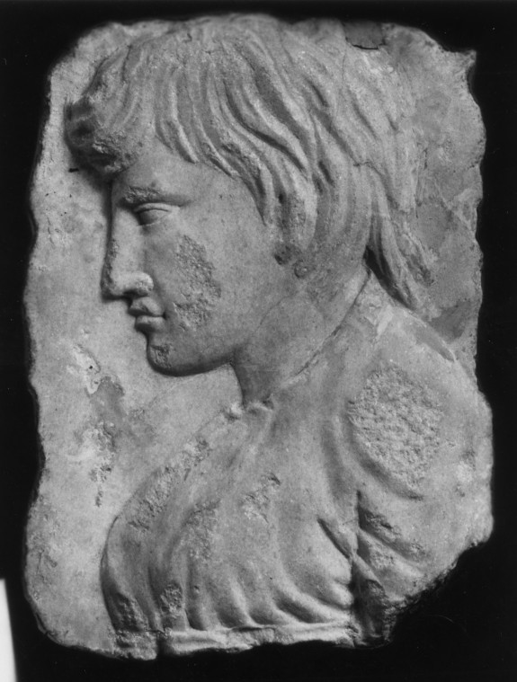 Fragment of a Relief with the Profile of a Boy