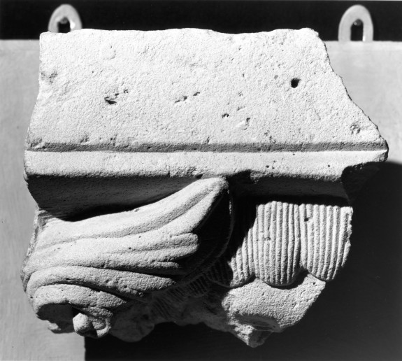 Fragment of a Corbel or Capital