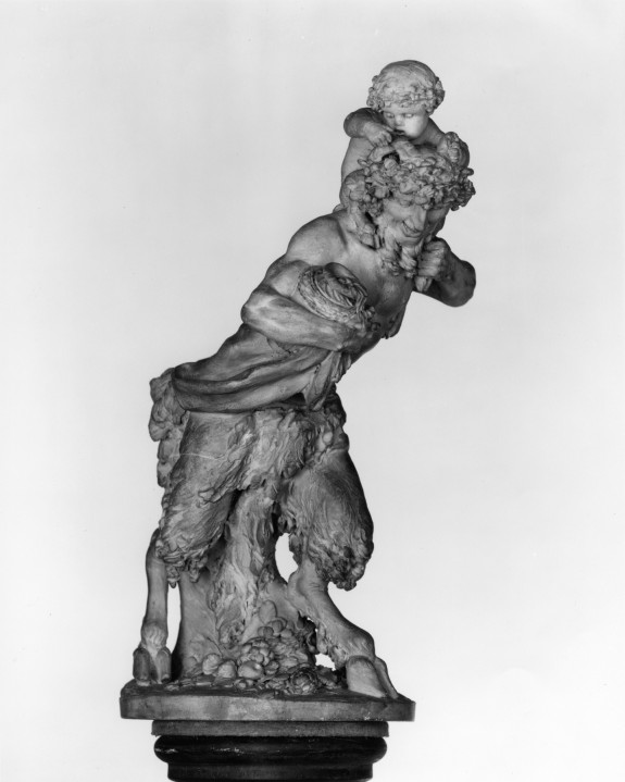 Satyr Carrying a Young Faun