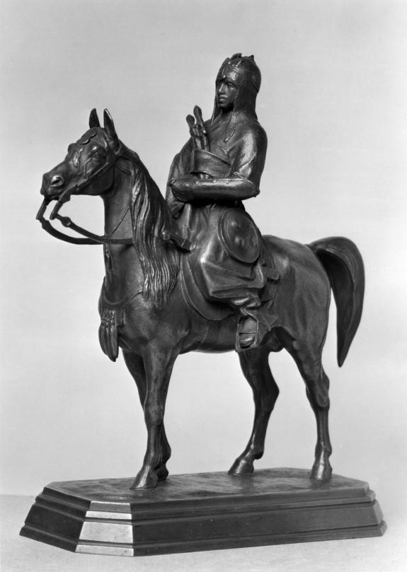 Mounted Arab