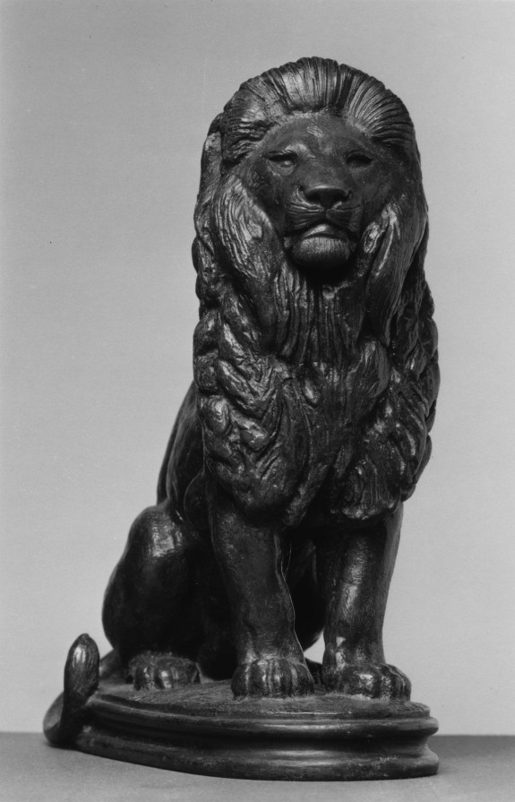 Seated Lion, Number 3