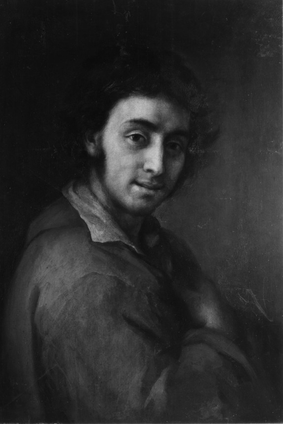 Portrait of a Man with a Red Coat