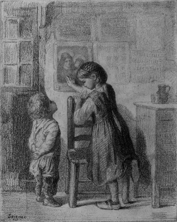 Interior with Children