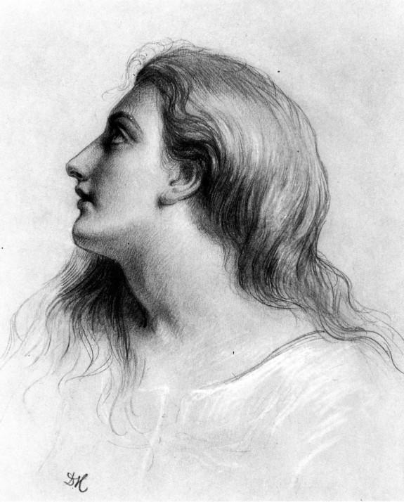 Female Head In Profile