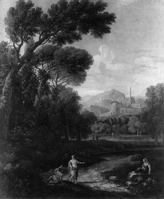 Landscape with Hills and a Castle