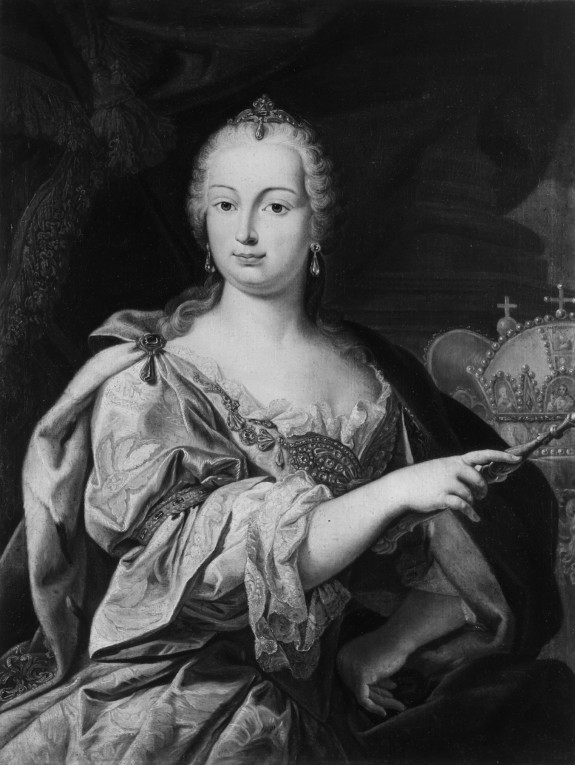 Portrait of Maria Theresa, Archduchess of Austria, Queen of Hungary and Bohemia