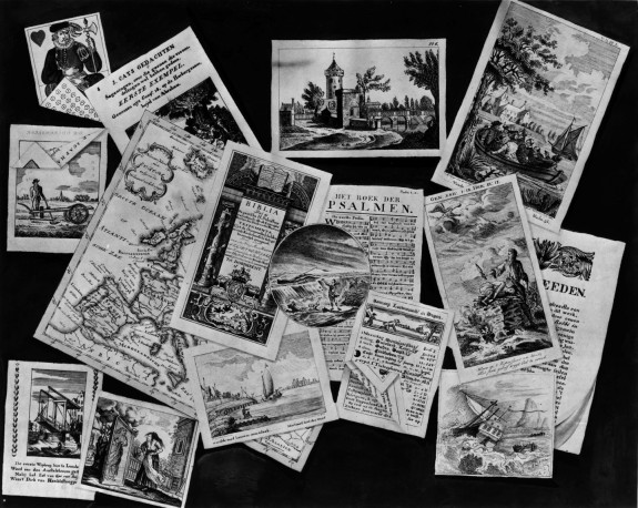 Trompe-l'oeil: Pages from Dutch books
