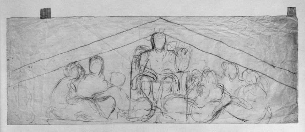 Study for a Louvre Pediment