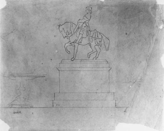 Study for Charles VII, the Victorious