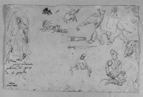 Sketches After Persian Miniatures