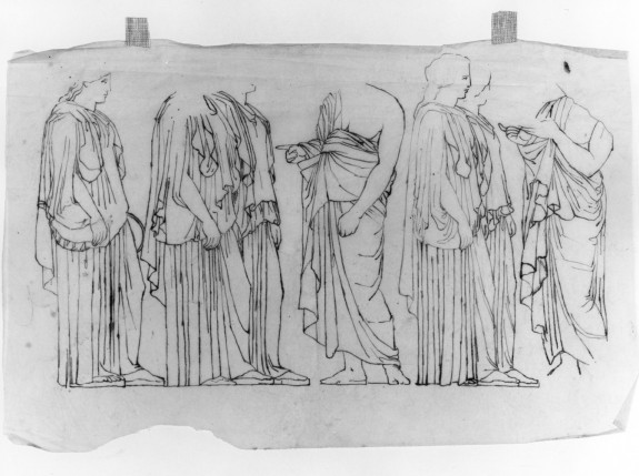 Tracings After the Frieze of the Parthenon