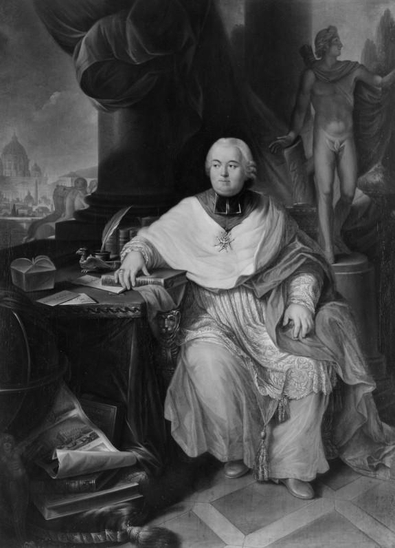 Portrait of Cardinal François Joachim de Pierre de Bernis
