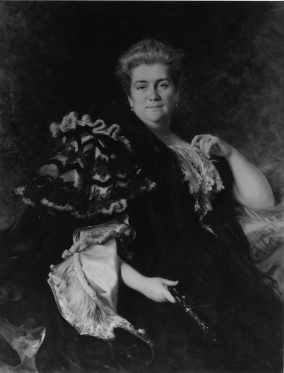 Portrait of Jennie Walters Delano (1853-1922)