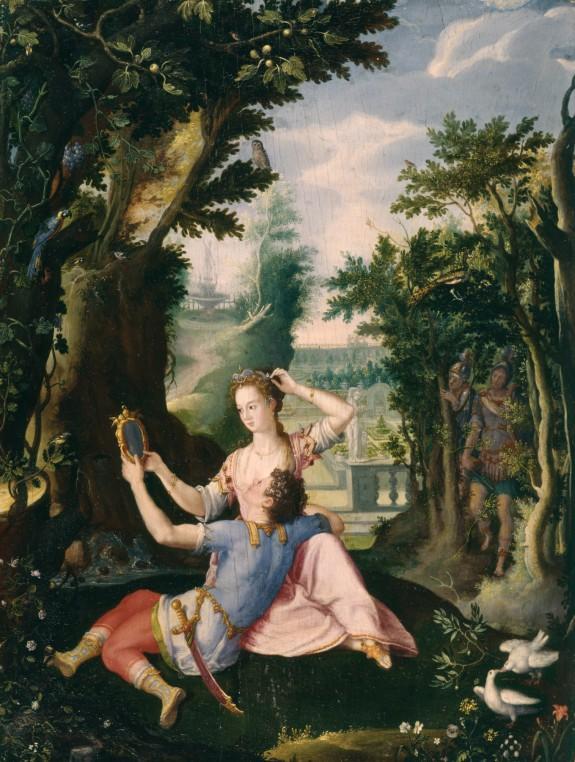 Rinaldo and Armida in the Enchanted Garden