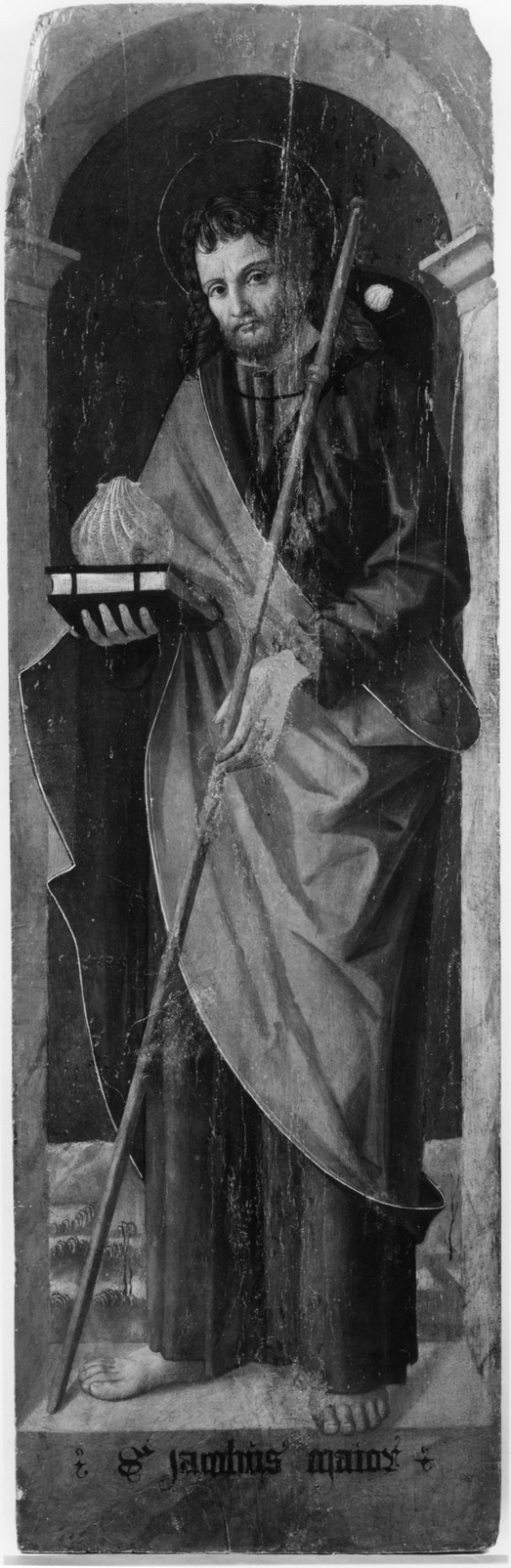 Four Panels: St. Peter, St. John the Baptist, St. Roch, St. James the Greater