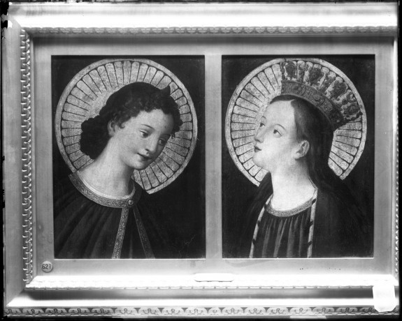 Heads of Two Female Saints