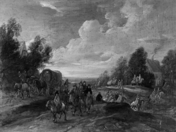 Landscape with Cavalrymen