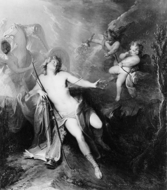 Apollo Pierced by the Arrows of Two Amorini