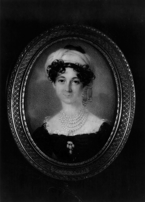 Portrait of a Woman in Empire Dress