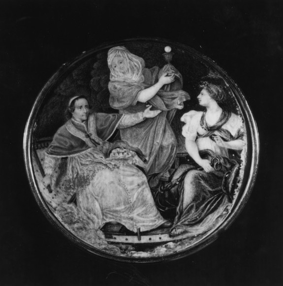 Pius VII in Peter's Bark, Guided by Religion and Constancy