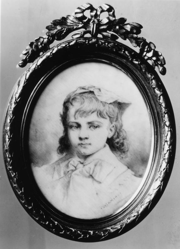 Portrait of the Artist's Grandchild (?)