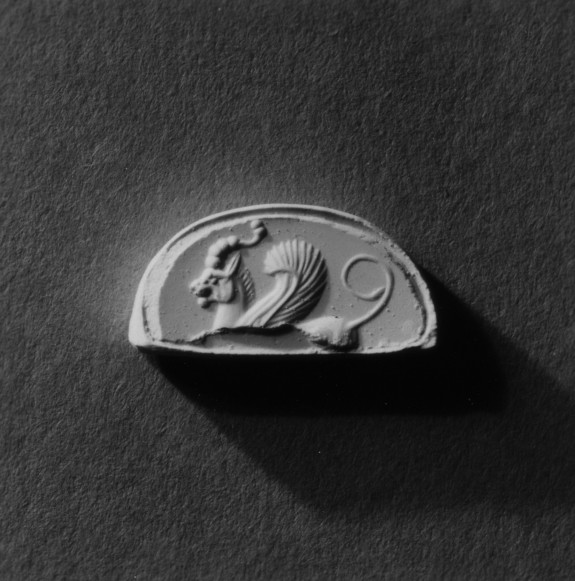 Intaglio Fragment with a Griffin