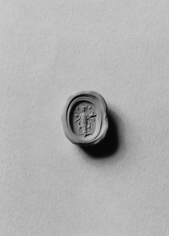 Intaglio with Ephesian Artemis Set in a Mount
