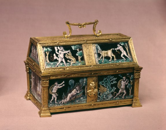 Casket with the Labors of Hercules