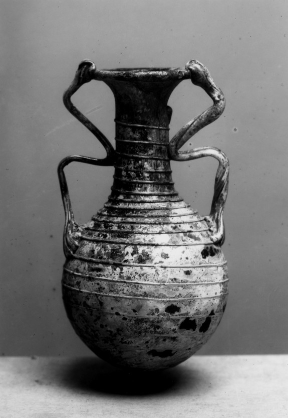 Bottle with Trailed Decoration