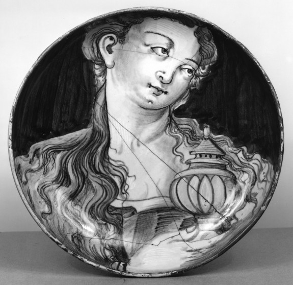 Dish with Mary Magdalene