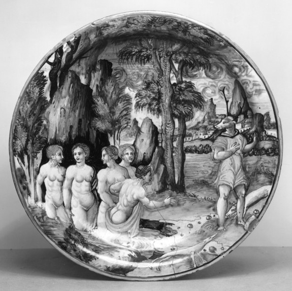 Dish with Diana and Nymphs Bathing