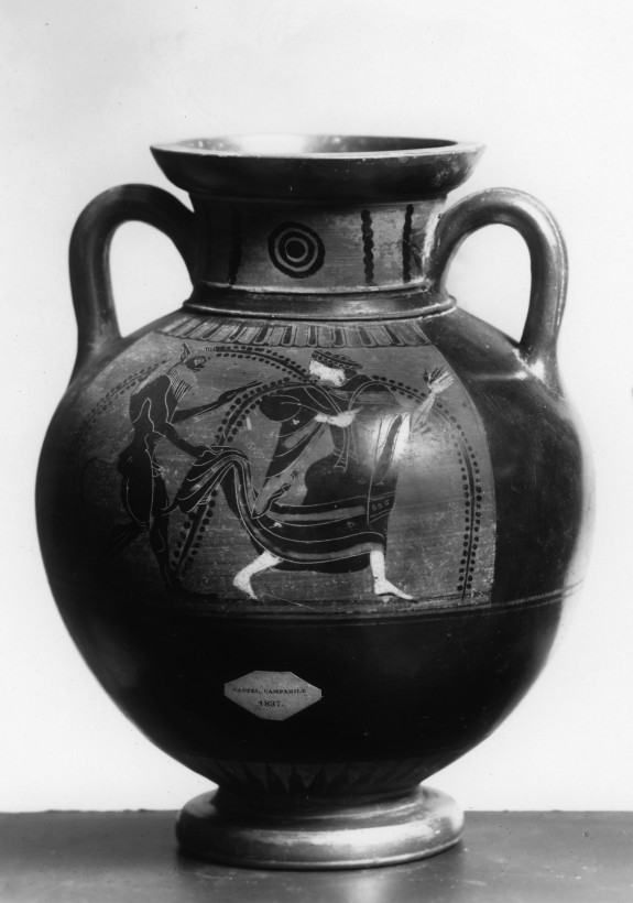 Amphora Depicting Satyrs and Maenads